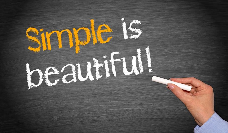 Houd het leven simpel